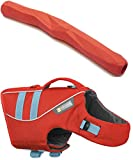 Ruffwear DOG FLOAT COAT and Gnawt-a-Stick TOY ♦ 2018 PREMIUM LIFE JACKET BUOYANT SECURE REFLECTIVE ♦ ALL COLORS AND SIZES (Medium, Sockeye Red)