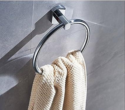 SIKER Full cobre toalla Holder Mano toallero de anilla para colgar toalla Hanger Baño Accesorios contemporáneo