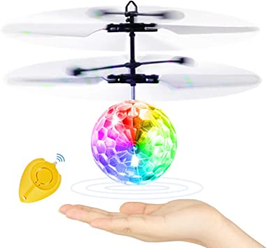 SJZX Flying Juguetes Bola Voladora HelicóPtero Teledirigido Drone ...