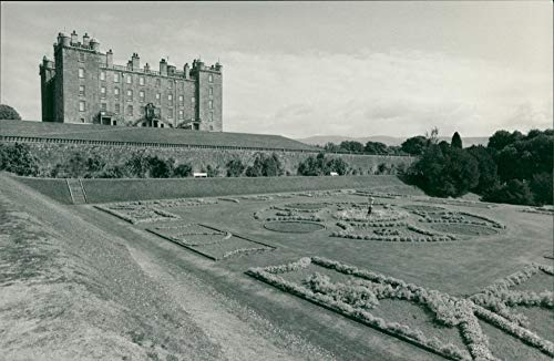 - Vintage photo of Drumlanrig Castle.