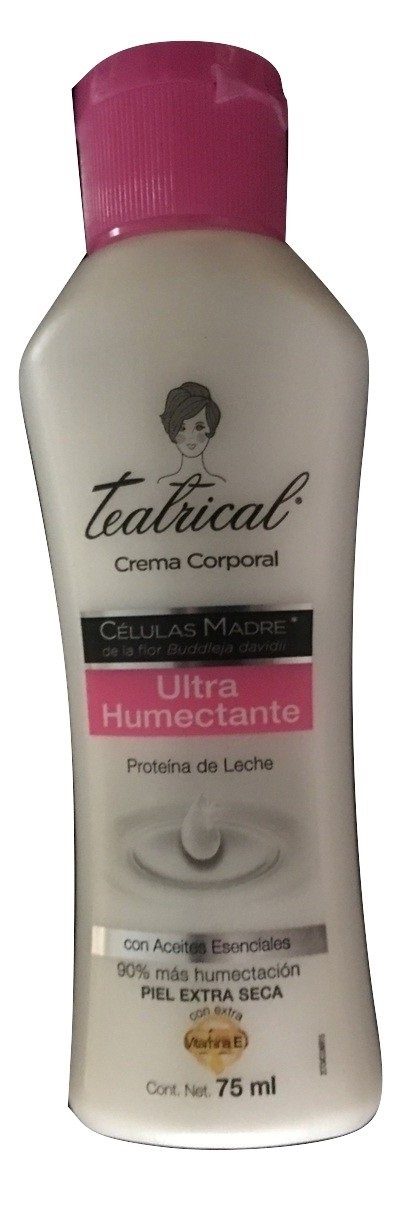 Amazon.com: Teatrical Ultra Humectante/Ultra Humidifying Body Cream: Health & Personal Care