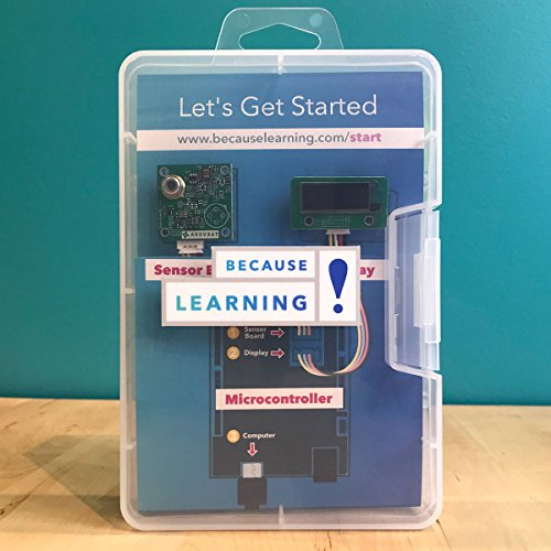 stem gifts for kids Because Learning Sensor Kit with STEM Activities