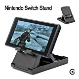 Seojack Compact Playstand Foldable for Nintendo Switch stand,Multi-Angle Aluminum Perfect Stand for Nintendo Switch Player
