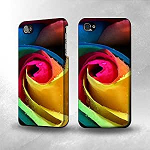 Case For Samsung Galaxy S5 Cover CaThe Best 3D Full Wrap iPhone CaRose Color