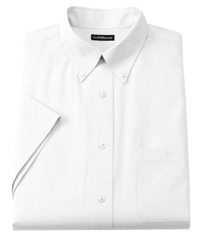 Croft & Barrow Mens Classic Fit Button Down Short Sleeve Shirt ...