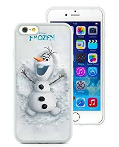 Case For iPhone 6,frozen disney olaf White iPhone 6 (4.7) TPU Case Cover