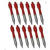 zzuus - Juego DE 12 Flechas de Aluminio para Tiro de Pernos Cruzados