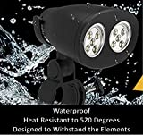 Laughing Walrus BBQ Grill Light - Waterproof, Heat Resistant Barbecue Grill Light with Super Bright LED Lights