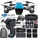 DJI Spark Quadcopter/Mini Drone FLY MORE COMBO & Outdoor Adventure Kit (Sky Blue)