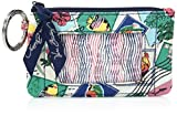 Vera Bradley womens Zip Id Case, Cuban Stamps, One size