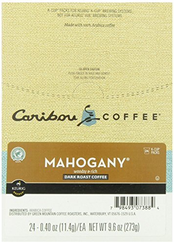 Caribou Coffee Mahogany Brewers 24 Count