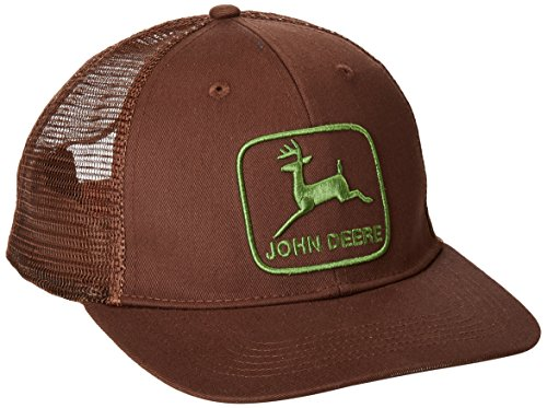 john-deere-mens-stretch-band-cap-mesh-back-brown-one-size