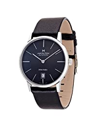 Hamilton Mens Automatic Leather watch #H38455731