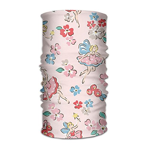 Flower Fairies Masks (PicPuzzle Unisex Headbands Print Flower Fairy Headwear Magic Bandana Neck Scarf Mask Fashion Sweatband Wrap For Outdoor)