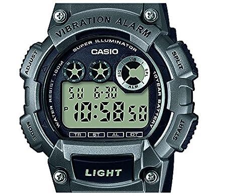 Casio Reloj Digital para Hombre de Cuarzo con Correa en Plástico W-735H-1A3VEF: Amazon.es: Relojes