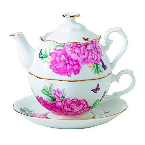 One Tea Set (Royal Albert Miranda Kerr Friendship Tea for One, White)