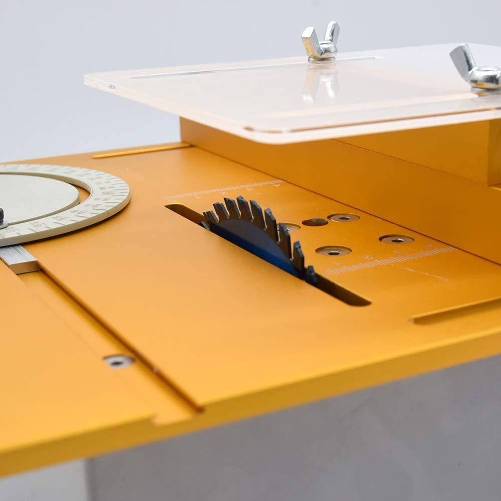 Sierra circular de mesa, mini edición de madera, máquina de cortar ...