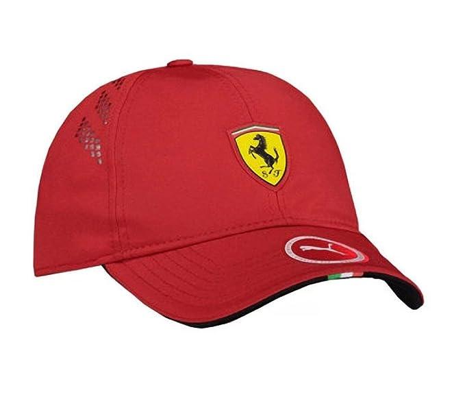 PUMA Ferrari Fanwear Force SF Cap - Size L XL - Rosso Corsa  Amazon.ca   Clothing   Accessories 63aa82211d12