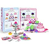 18 Inch Doll Tea Party & Dessert Food Set, Two Complete Doll Sets for Your Favorite 18 Inch Doll | Includes 64 Pieces of Pretend Doll Food & Accessories