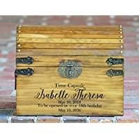 New Baby Keepsake Box Personalized for Boy or Girl Memory Box Boho Shower Gift for Mom Custom Engraved Treasure Chest for Newborn Gift Box Infant