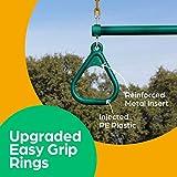 "Jungle Gym Kingdom 18"" Trapeze Swing Bar Rings"