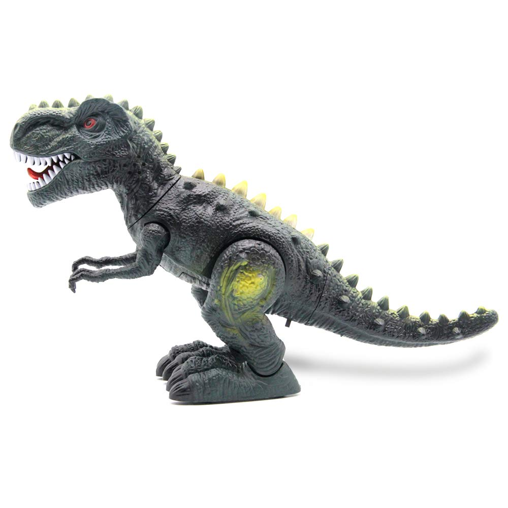 CISAY Dinosaur Toys,D33 Electronic Real Walking Dinosaurs with LED Lights and Dinosaur Sounds by CISAY (Image #3)