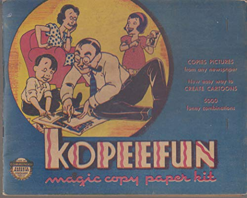 Kopeefun Kartoons Magic Copy Paper Kit for Newspaper Comics 1940