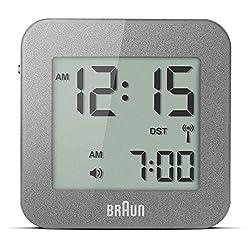 Braun BNC008GY-RC LCD Quartz Alarm Clock
