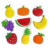 Fridge Magnets Fruit Magnets Game Set Funky Magnetic Fridge Toys Magnets Kid Toys Fruits
