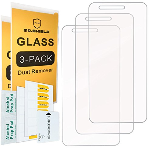 [3-PACK]-Mr Shield For LGRebel 2 LTE 4G [Tempered Glass] Screen Protector [Japan Glass With 9H Hardness] with Lifetime Replacement Warranty