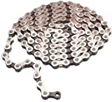 """Image of Gusset GS-8 8sp chain, 3/32"""" - silver/brown"""