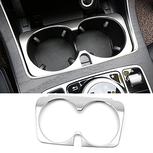 Class V Cars Benz Mercedes (HIGH FLYING Steel Water Cup Cover Trim Decor For Mercedes Benz Metris V-Class W447 2014-2016)
