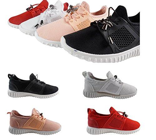 Laufschuhe Schuhtraum Fitness Damen Sportschuhe Freizeit Turnschuhe Sneakers Schwarz Runners AN673 0Z0rwT