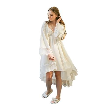 Elegante pijama rebeca retro cómodo tejido de punto de algodón ropa de dos piezas (Color