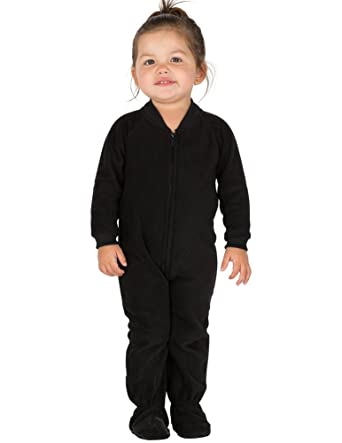 Amazon.com: Footed Pajamas Midnite Black Infant Fleece: Clothing