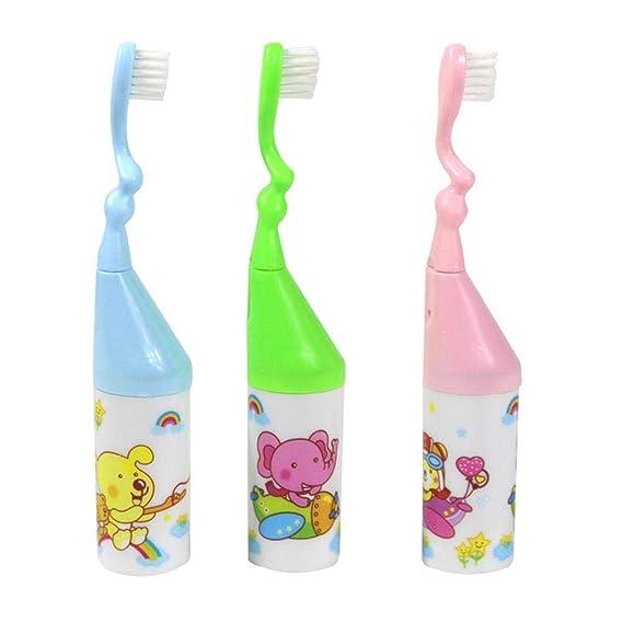 Per Cepillos Dientes para Bebés Cepillo Dental con Pelo Blando Cepillos de Limpieza con Silbido Juguetes con Sonidos: Amazon.es: Bebé
