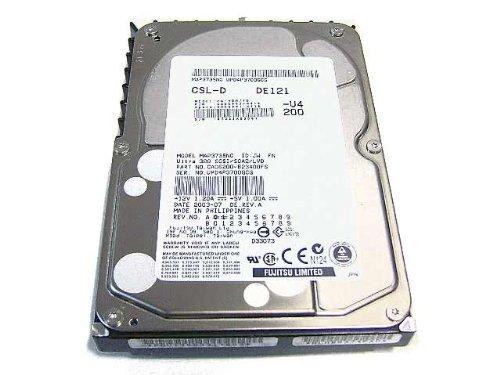 (FUJITSU MAP3735NC - 73GB 80-PIN 10K Ultra-320 SCSI Hard drive)