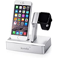 Apple Watch Stand, [3-in-1 New Version] Charging Stand Holder for Apple iWatch & Ipad & IPhone (iPhone 5/ 5S/...
