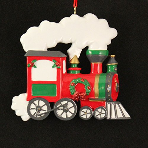 Personalized Train Holiday Gift Expertly Handwritten Ornament