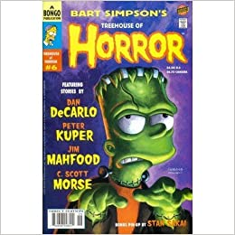 Bart Simpsons Treehouse of Horror #6: Amazon.com: Books