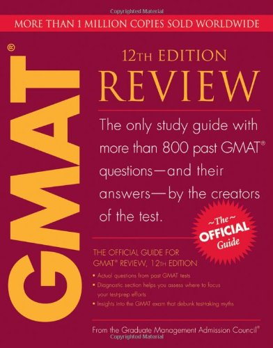 The Official Guide for GMAT Review, 12th