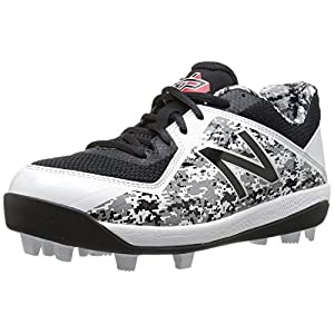 New Balance Boys' 4040v4, Black/Camo, 5.5 M US Big Kid