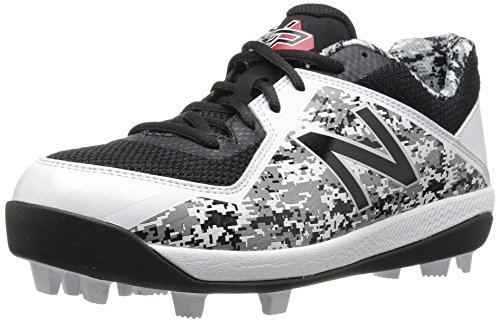 New Balance Boys' 4040v4, Black/Camo, 6.5 M US Big Kid