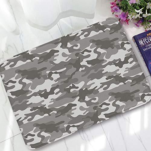 YOLIYANA Water Absorption Non-Slip Mat,Camouflage,for Corridor Study Room Bathroom,15.75