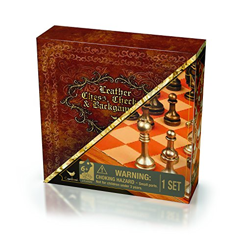 er Chess, Checkers, & Backgammon - Deluxe 3-Game Set ()