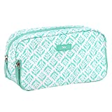 SCOUT 3-Way Bag, Toiletry & Cosmetic Multi Compartment Travel Organizer, 3 Zipper Compartments, Water Resistant, Aqua Fresca