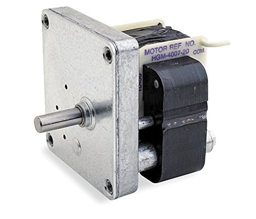 Dayton AC Parallel Shaft Gear Motor 1 RPM 1/250hp 115volt 60hz. Model 3M095 by Dayton