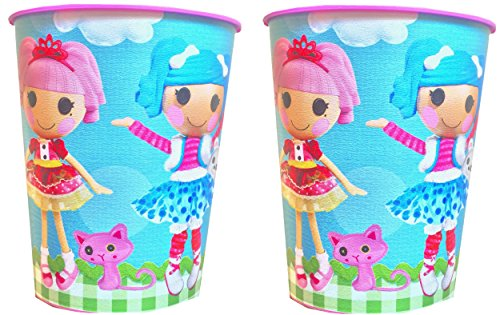 Lalaloopsy Reusable Children's Party Favor Cups Pack Of 2