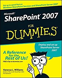 Microsoft SharePoint 2007 For Dummies by Vanessa L. Williams (2007-04-09)