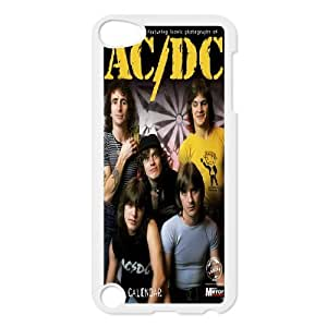 Rock Band AC/DC Poster Hard Plastic phone Case Cover FOR Ipod Touch 5 XFZ373038